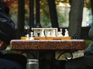 playing chess is like content marketing and brand identity strategy