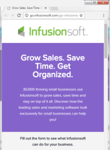 infusionsoft-example