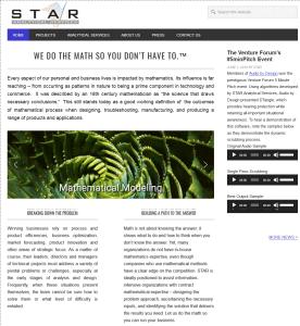 Star analytical web site custom refresh