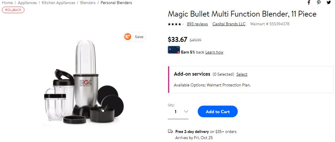 Magic Bullet Example photo for Social Media Marketing