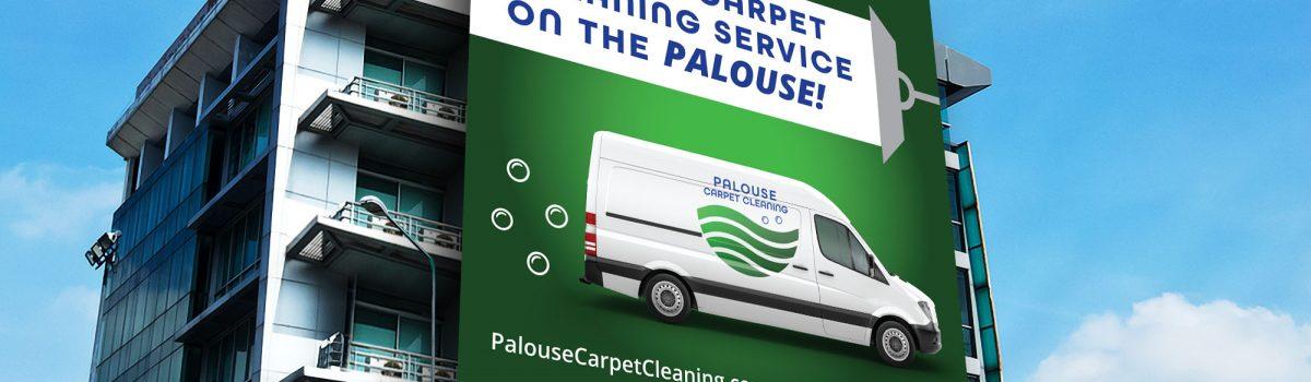 Palouse Carpet Cleaning Billboard Mockup