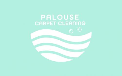 palouse carpet cleaning brand logo design 2